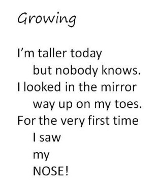 Growing, from I'm small